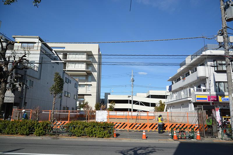 グランデュールVII大田中央(仮称)建設中2020年6月末竣工予定